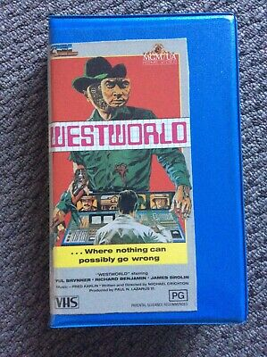 Westworld (VHS) - Classic Sci-fi Action