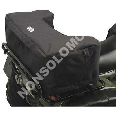 Bauletto Borsa Tessuto Posteriore Nero Rack Pack Quad Atv Polaris Can Am Arct...