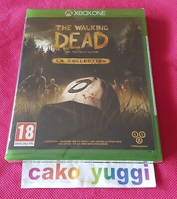 The Walking Dead La Collection Xbox One Neuf Sous Blister Version Francaise
