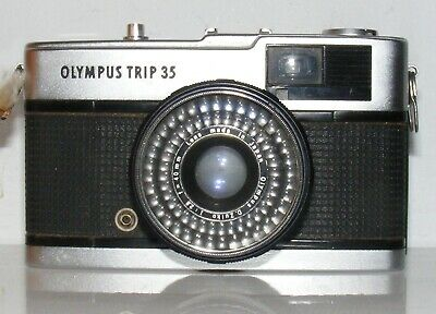 OLYMPUS TRIP 35  35mm VIEWFINDER FILM CAMERA JAPAN