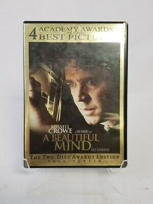 A Beautiful Mind Full Screen Awards Edition 2-Disc Set