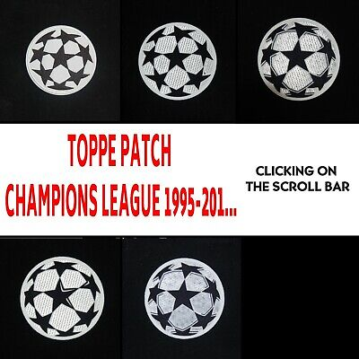 Toppa Champions League Patch Badge 1995-2018