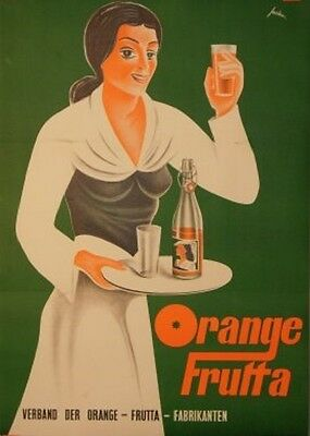 Original Plakat - Orange Frutta