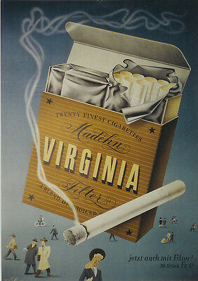 Original Plakat - VIRGINIA Cigarettes
