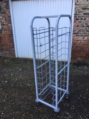 Tray Stacker Trolleys (used but great condition)