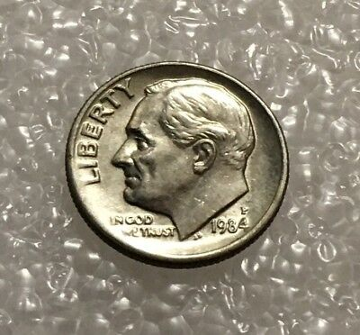 1984 - One Dime Coin - American / Usa - President Roosevelt