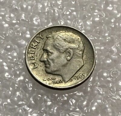 1965 - One Dime Coin - American / Usa - President Roosevelt