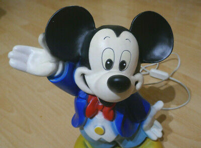 MICKEY MOUSE LAMPE Micky Maus Lampe - Vintage von Heico 30 ...