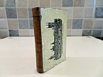 Victorian Treen London Souvenir Miniature Book Box - Concealed Secret Opening