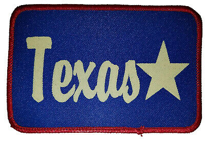 Texas Cowboy Western Sunset Horse Embroidered Patch 3x5  Iron On