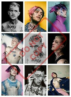 LIL PEEP POSTER PRINT COLLAGE ART (peep2) - VARIOUS SIZES - BIG or SMALL  cd