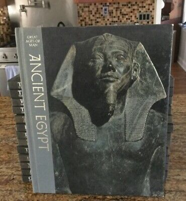 Ancient Egypt Time-Life Great Ages Of Man Hc 1965 Gc