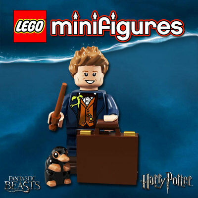 New Lego Newt Scamander Minifigure From Fantastic Beasts Set 71253 dim034