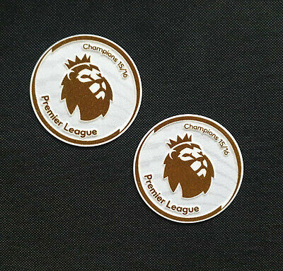 Premier League Champions Badge 2016/2017 Patch Logo Toppa Leicester City