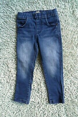 Children/Kids clothes GIRL BOY 2-3 years NEW! Mothercare skinny dark blue jeans