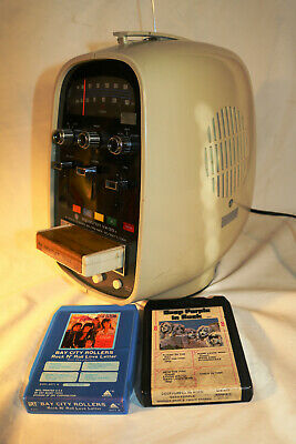 1973 Brother Aquatron VX-33C Radio 8-Track Egg Player (Tested & Works) MP3/AUX