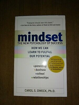 Mindset : The New Psychology of Success by Carol S. Dweck ph.D. (2007 Paperback)
