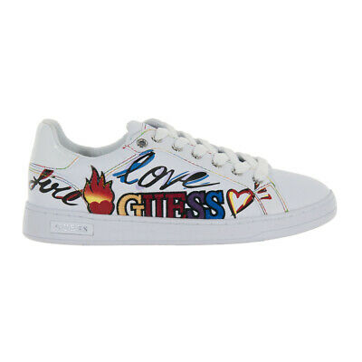 best sneakers 44719 656c0 SCARPE GUESS DONNA Sneaker Crayz Stampa Laterale White Fl5Crzele12