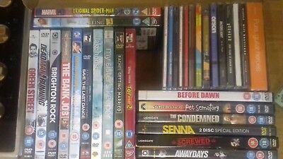 dvd & CD joblot bundle. Bundle of CDs and DVDs.  Ideal for car boot sellers