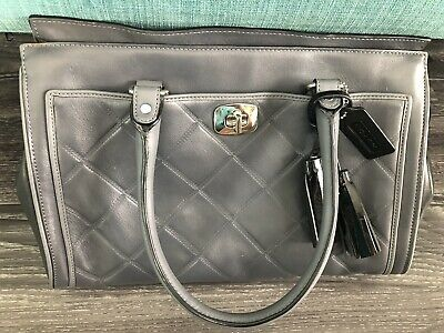 4fdff36127 NWT COACH LEGACY Embossed Quilted Leather Chelsea Carryall Handbag ...