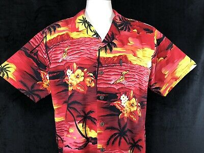 db889477 ... Small SS Button Front Shirt Blk Woodies Surf New W Tags. $18.00 Buy It  Now or Best Offer 10d 11h. See Details. Palmwave Hawaii Large Hawaiian Mens  Shirt ...