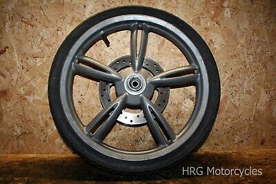 Peugeot Looxor 50 Front Wheel with Tyre + Brake Disc 2001
