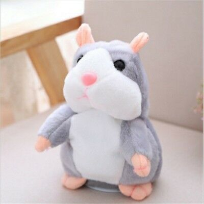 Talking Hamster Repeats Toy Mouse Electronic Pet Sound Gift Children Plush Cut