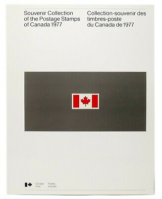 1977 Canada ANNUAL SOUVENIR COLLECTION 20 CV $40 - First Large Softcover Edition