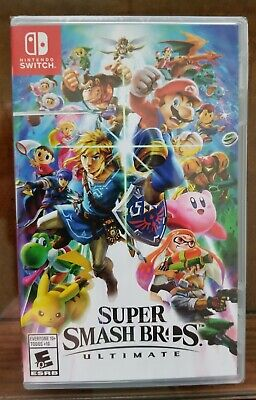 Super Smash Bros. Ultimate Nintendo Switch Game New game brand new in wrapper