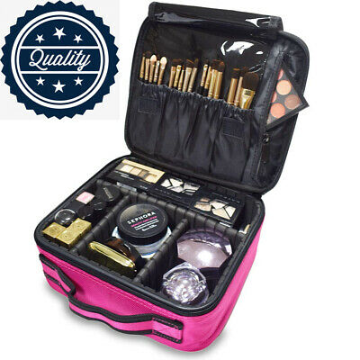 TOPSEFU Makeup Bag,Travel Make up Bag,Professional Organizer...