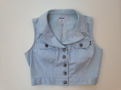 Moschino Jeans vintage top gilet tg. 42