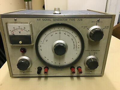 Advance AF Signal Generator Type J2B Made in England