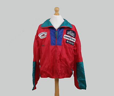 Unser Brothers Racing Team Full-Zip Columbia Sports Jacket XL Extra Large Track