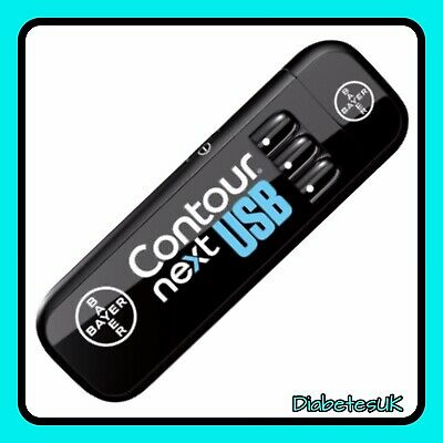Contour Next USB Meter - Blood Glucose Meter - Single Unit Meter