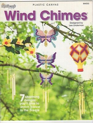 Plastic Canvas WIND CHIMES by LEE LINDERMAN C 2004