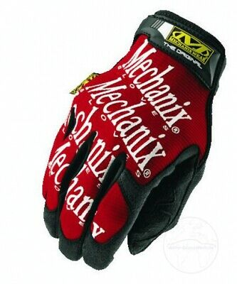 Mechanix Orginal Handschuh rot Handwerker Mechaniker Biken BMX MTB Gloves