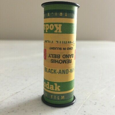 Vintage Kodak Black and White Tri-X Pan 120 Roll of UNOPENED Sealed Film no box