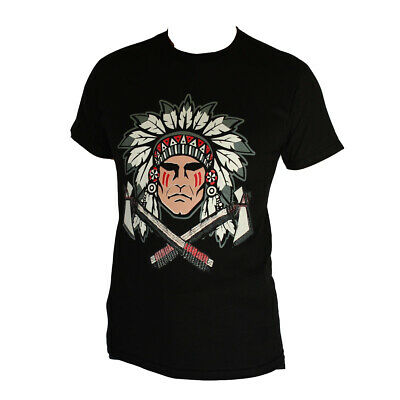 Apache Native American Graphic Men's T-Shirt