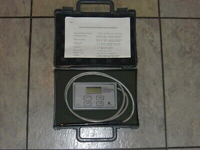 Fisher Scientific digital hygrometer thermometer dew point meter, new 9v battery