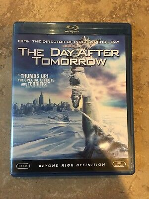 The Day After Tomorrow (Blu-ray Disc) SHIPS FREE WITH TRACKING