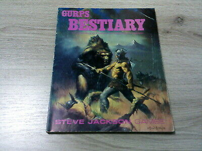 GURPS 2nd Edition Bestiary Sourcebook 1988 Softcover SJG G