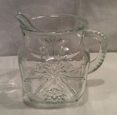 Anchor Hocking Early American Prescut Square 40 Oz. Pitcher