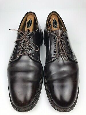 9d5d8bf0137 Alden For Brooks Brothers Blucher Shell Cordovan Burgundy Men's US Size  10.5 C