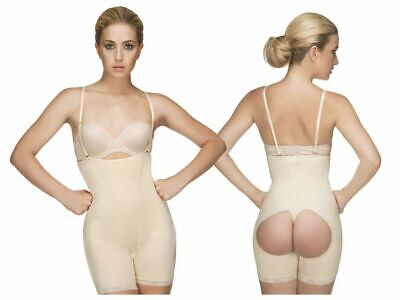 99e979350ee Shapewear for Women: Vedette 504 Isabelle Mid Thigh Body with Buttock  Enhancer