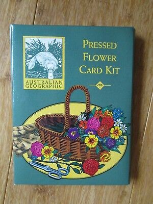 Australian Geographic Pressed Flower Card Kit