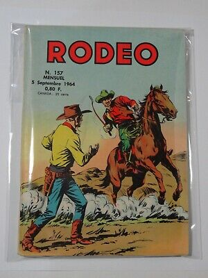 Rodeo N°157 Lug 05 Septembre 1964 bon état. Voir photos
