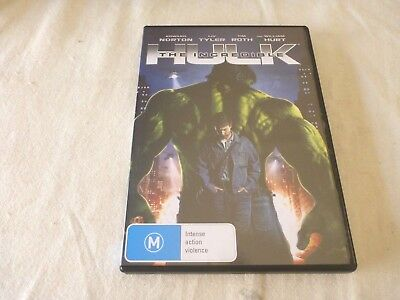 The Incredible Hulk (DVD, 2008) Region 4