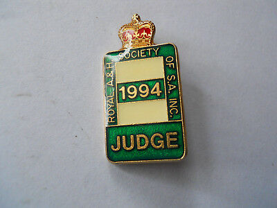 1994 A & H Society of S.A. Judge Badge