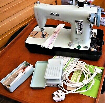 Vintage Jones Electric Sewing Machine Model J-A-28 Ser No L86595953