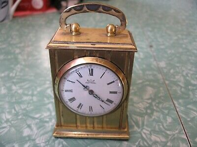 vintage astral small carriage type clock (smiths)